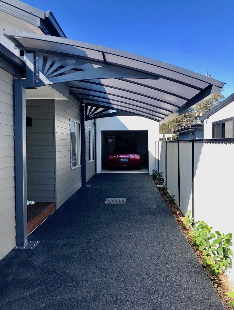 Pergola and Carport in Canberra