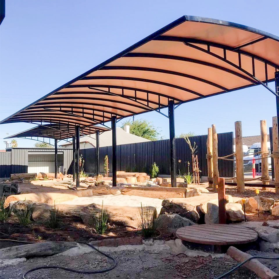 School & Childcare Shade Structure